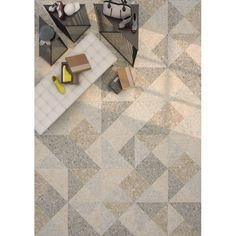 Carrelage grès cérame effet terrazzo granito Ceppo di Gre  (4 couleurs)