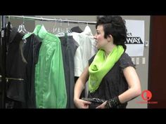 Michelle Lesniak Franklin - LOVE her modern uses for quilting as part of garment sewing. [casting session for Project Runway 11]