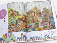 verykerryberry: My Small World Quilt-Along : Details
