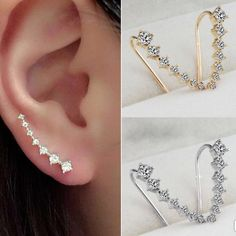 New Gold Style Ear hook earrings. This is for the Gold style. 2 Available Jewelry Earrings