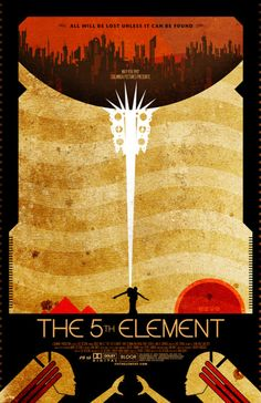 cool Fifth Element poster Ha! I am watching it at this very moment!!!!  Corbin and Lelu are about to rocket off to Flotsam Paradise.