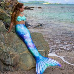 Mermaid Tails For Sale, Mermaid Swim Tail, Mermaid Cove, Mermaid Swimming, Mermaid Art, Mermaid Paintings, Mermaid Swimsuit, Tattoo Mermaid, Realistic Mermaid Tails
