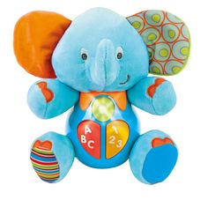 Another great find on Smart Baby Elephant Plush Toy by Winfun Baby Playroom, Fun Songs, Baby Shop Online, Cute Plush, Baby Development, Kids Store, Baby Design, Early Learning, Baby Elephant