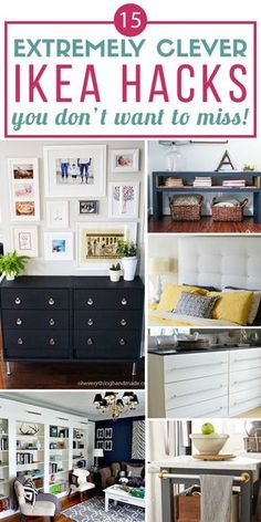 Wow! I can't believe some of these designer looks are actually Ikea hacks! This is the best round-up of Ikea hacks I have seen. I am especially in love with the 4th and 13th ideas!