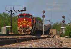 RailPictures.Net Photo: BNSF 798 BNSF Railway GE C44-9W (Dash 9-44CW) at Baring, Missouri by Aaron J. Border