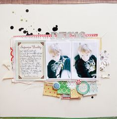 December 16th by marcypenner | Scrapbooking Kits, Paper & Supplies, Ideas & More at StudioCalico.com!