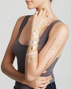 Lulu DK High Noon Temporary Jewelry Tattoos, Pack of 2 | Bloomingdale's