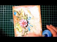 Mixed Media Card Tutorial using Lindy's Stamp Gang