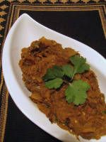 Attempt II:  Punjabi Baingan Bharta - Punjabi Style Eggplant
