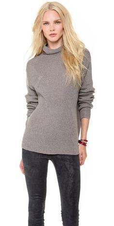 HELMUT Helmut Lang Turtleneck Sweater | SHOPBOP