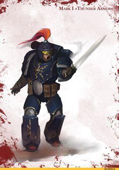 Warhammer 40000,warhammer40000, warhammer40k, warhammer 40k, ваха, сорокотысячник,фэндомы,Thunder Warriors,Salamanders,Space Marine,Adeptus Astartes,Imperium,Империум,White Scars,Pre-heresy