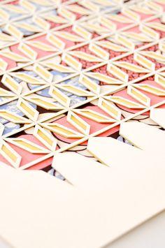 Laser Cut Print - Sieve 1 by KOROMIKO