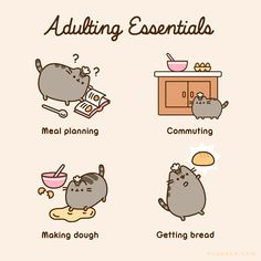 Pusheen is a tubby tabby cat who brings smiles and laughter to people all around the world! How To Draw Pusheen, Pusheen Gif, Pusheen Love, Sweet Drawings, Cute Animal Drawings, White Kittens, Cats And Kittens, Ragdoll Kittens, Bengal Cats