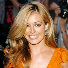 Cat Deeley never had a bad hair day in her life...