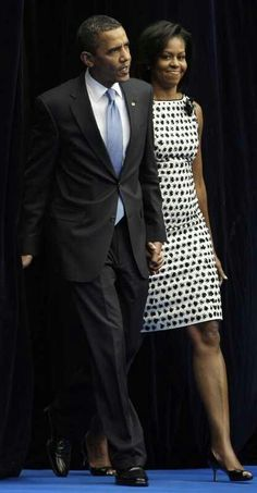 president and first lady..