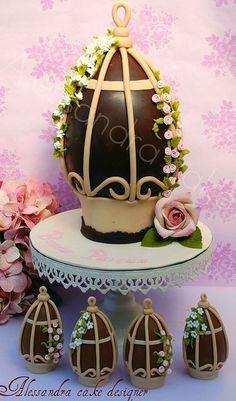 Пасхальное яйцо.  Пасхальное яйцо - Пасхой !! !!!!  Алессандра торт Designer, с помощью Flickr: