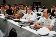 Comandante Márcio Costa e outros convidados da AMS Kepler, do CGEM, prestigiando o evento