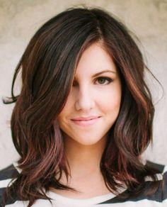 The Cute hairstyles for medium length hair with bangs or braids