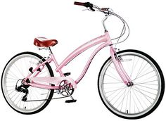 Special Offers - Fito Modena II Shimano 7-speed Women  Pink 26 Beach Cruiser Bike Bicycle Step-through & crank fordward design. - In stock & Free Shipping. You can save more money! Check It (June 29 2016 at 08:55AM) >> http://cruiserbikeswm.net/fito-modena-ii-shimano-7-speed-women-pink-26-beach-cruiser-bike-bicycle-step-through-crank-fordward-design/