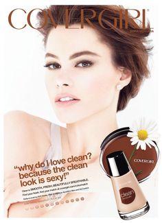 Covergirl Cosmetic Advertising with Sophia Vergara