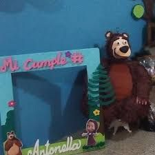 Resultado de imagen para piñatas de masha y el oso