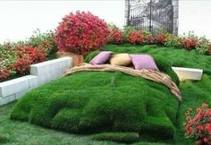 Wow wat a bed