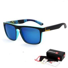 The Sunglasses UV 400 Protection with logo and packaging #Electric