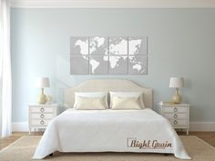 Hey, I found this really awesome Etsy listing at https://www.etsy.com/listing/112776846/large-painting-world-map-wall-artwork
