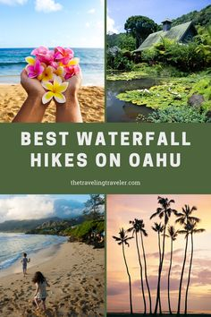 The Best Waterfall Hikes on Oahu | Hiking in Hawaii | Hiking in Oahu | Best hiking on Oahu, Hawaii | Living in Hawaii gives me the chance to be an expert on what this beautiful part of the world has to offer | Sharing the beauty of Oahu with you | Where to go in Oahu | Outdoor adventures in Hawaii | Waterfalls in Oahu | Waterfalls in Hawaii | Where to visit in Hawaii | Where to go in Hawaii Hawaii Vacation Tips, Hawaii Hikes, Oahu Hawaii, Maui Travel, Usa Travel, Instagram Inspiration, Travel Inspiration, Travel Advice, Travel Tips