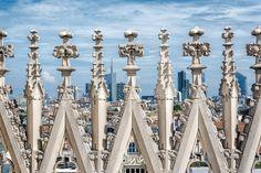 Pierre L'Excellent | Comment faire de belles photos d'architecture ? Format et orientation (2) - Vue du Duomo de Milan