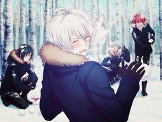 Cute~♡ Don't bully Sogo though, Riku! Kawaii Anime, Osaka Winter, Manga Anime, Anime Art, Boy Character, Anime Music, Cute Anime Boy, Anime Ships, Me Me Me Anime