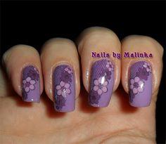 Nails by Malinka: Paars en Big SdP-B