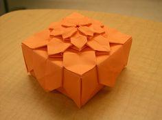 Hydrangea Origami Box