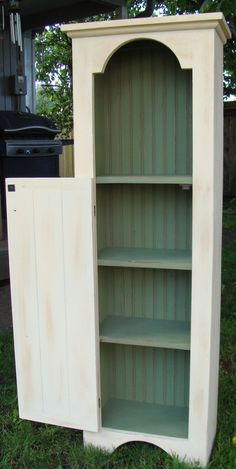 Cottage Cabinet Jelly Cupboard Country Shabby by TheCottageBarn, $175.00