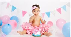 First birthday photos