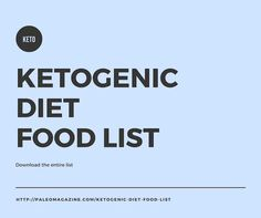 What to know what to eat on keto? This post includes a comprehensive ketogenic diet food list you can read through or download as an easy-to-print PDF.