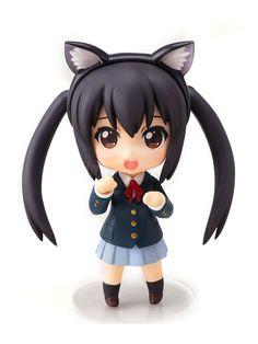 anime action figures | ON!! Nakano Azusa Anime Action Figure - Milanoo.com