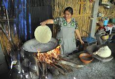 Making Tortillas Oaxaca Mexico