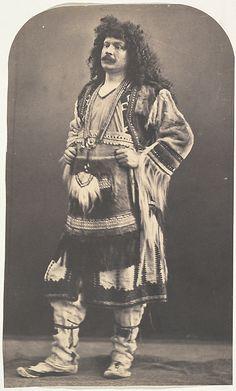 Self Portrait in American Indian Costume, 1863 by Félix  Nadar