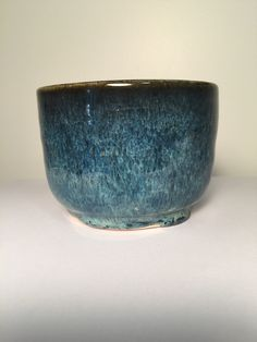 Carole's Pottery: Midnight Blue 3x under Textured Turquoise x4 (Tex T really runs) Standard 182 G clay.