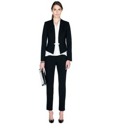 Panelled Zip Detail Pant by Cue