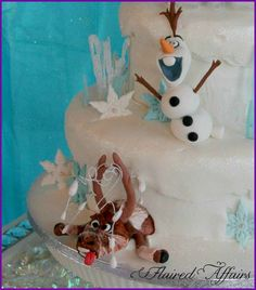 Frozen Inspired Ice Princess Party | CatchMyParty.com