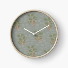 Designs, Clock, Pure Products, Brown, Decor, Products, Watch, Decoration, Clocks