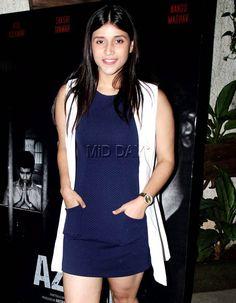 Mannara Chopra at the screening of short film 'Azaad' in Mumbai. #Bollywood #Fashion #Style #Beauty #Hot #Sexy