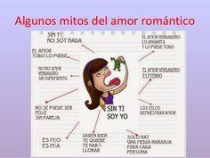 Resultado de imagen de mitos amor romántico