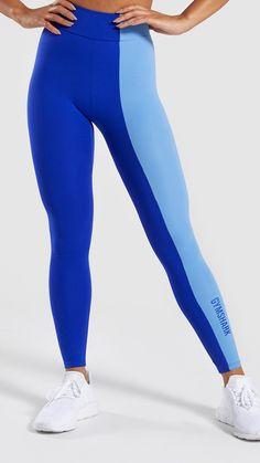 ef4defa59 Gymshark Illusion Leggings - Evening Navy Blue Steel Blue Night ...