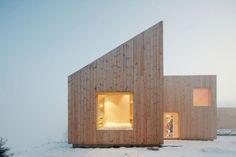 Una cabaña única en el bosque de Mork-Ulnes Architects | Arquitectura