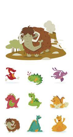 Ilustración infantil · Fun Choices by David Sierra, via Behance
