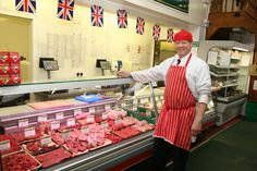 One of our stalwart campaigners and house wife's favourite Alan the butcher :-)