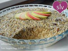 Almás köles - Próbáltad már a kölest édesen, mákkal és almával ízesítve? Az almás köles diétás reggeli, a hagyományos pudingok egészséges alternatívája!